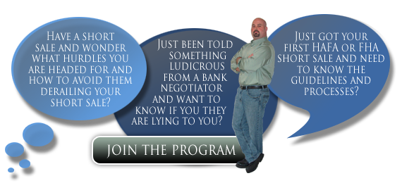 Join the Short Sale Mentoring Program by Sean Wilder
